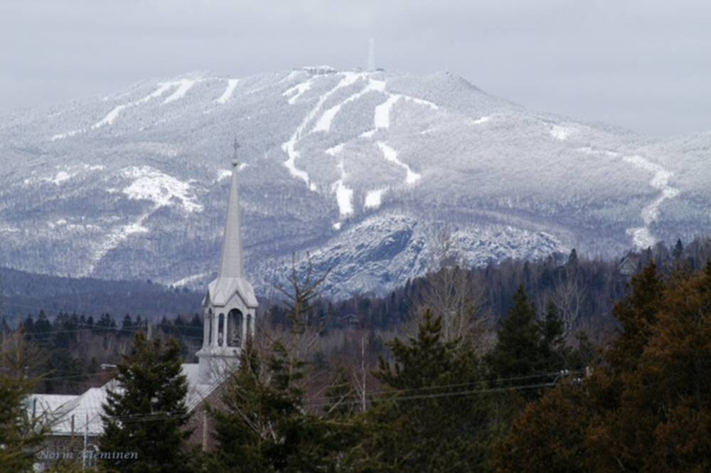 Tremblant snow fall winter oct 15