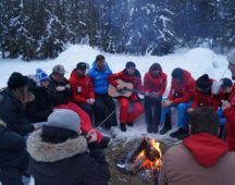 Sing song round the campfire!