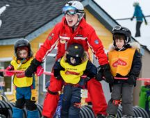 Gain work experience with the local ski school