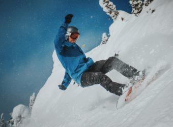 Ski le Gap Ant snowboarding